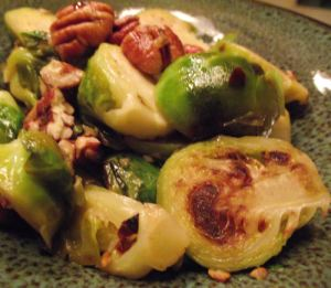 Best Ever Brussels Sprouts with Grapefruit