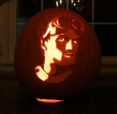 Dr Horrible pumpkin