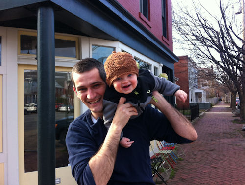 Damon and Oscar, WPA Bakery in Church Hill